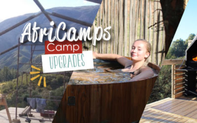 Exciting upgrades at AfriCamps: Tents, tubs and experiences