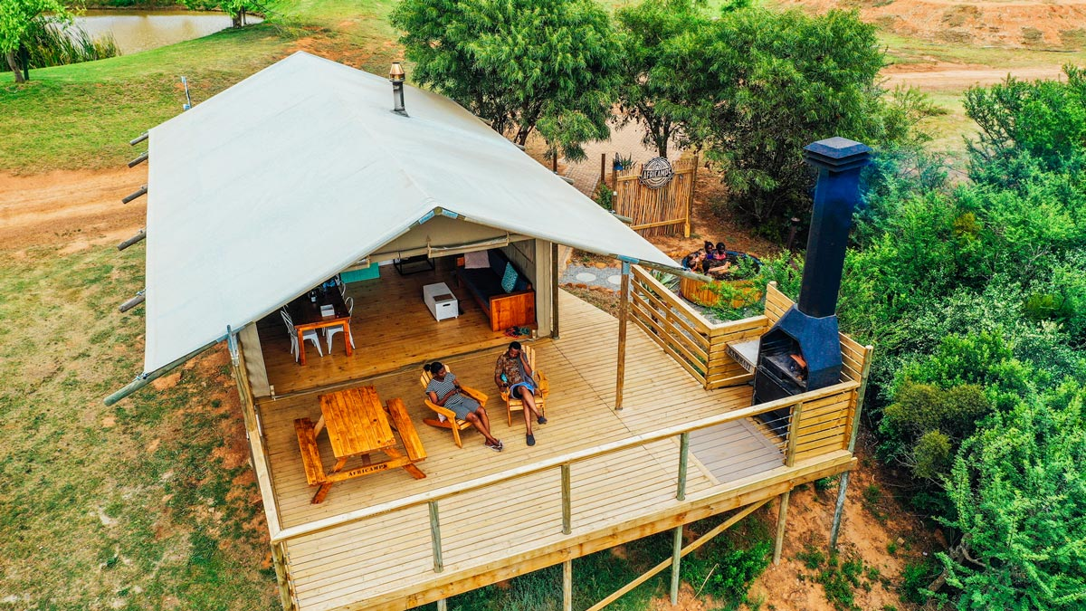 AfriCamps-South Africa glamping tent