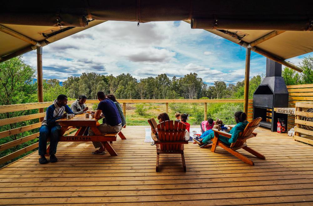 africamps kambati swellendam south africa glamping