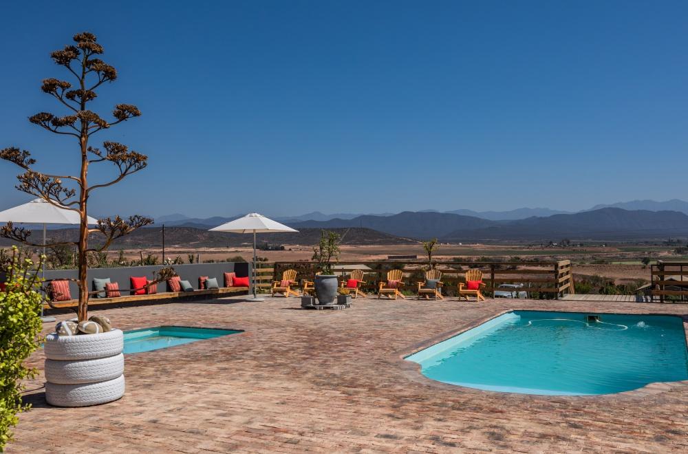 AfriCamps Klein Karoo Oudtshoorn Pool Area