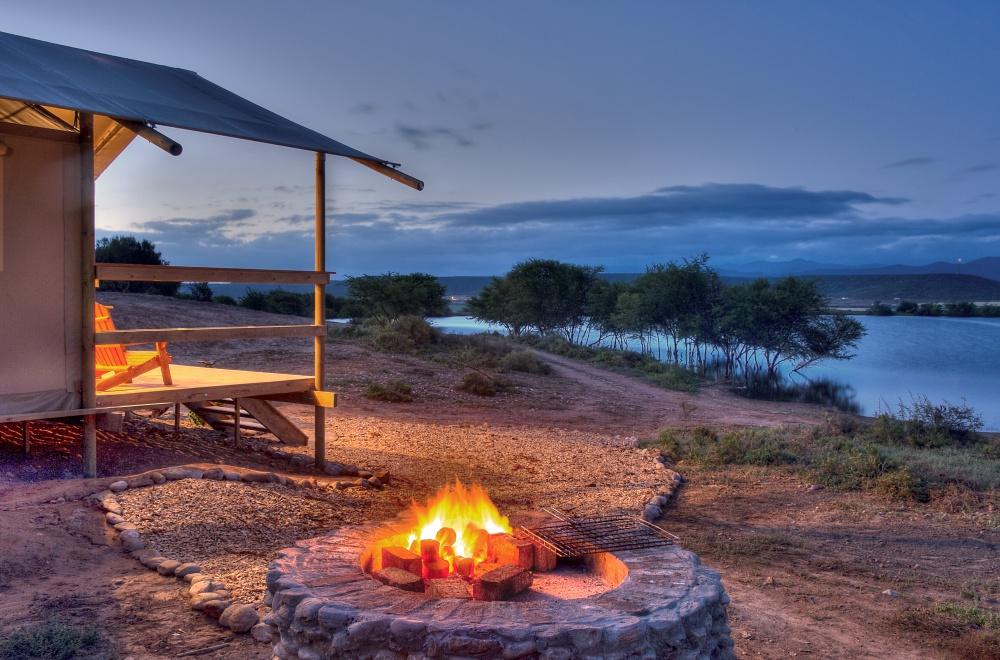 AfriCamps Klein Karoo Oudtshoorn Sunset Braai