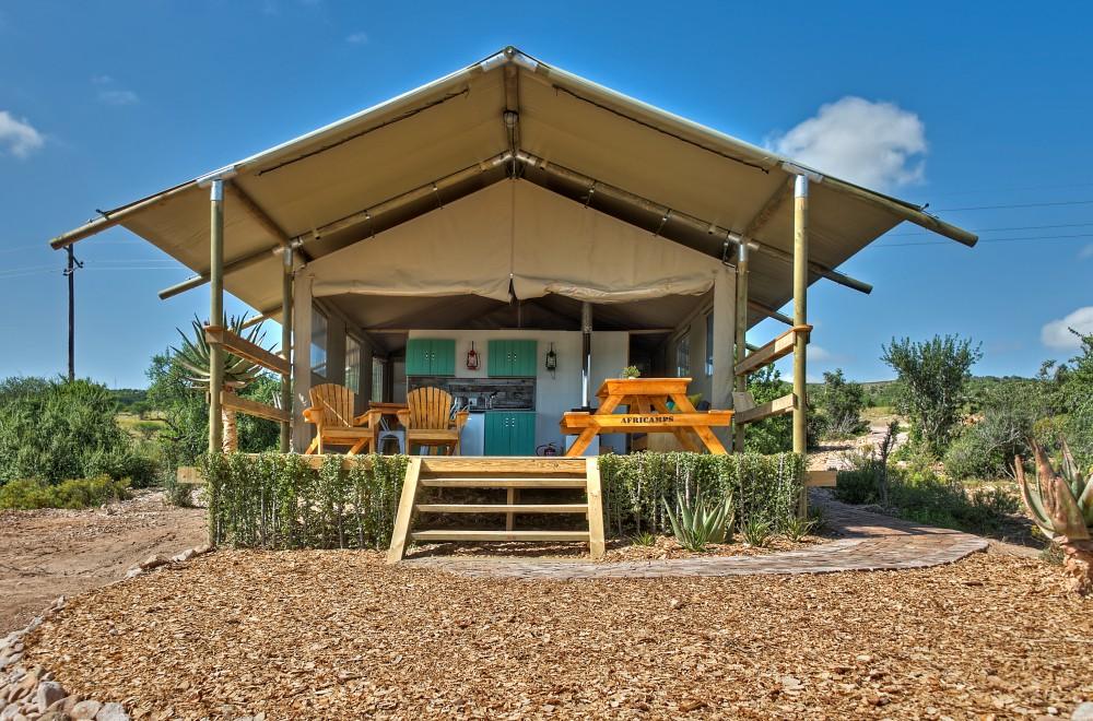 AfriCamps Klein Karoo Oudtshoorn Glamping Tent