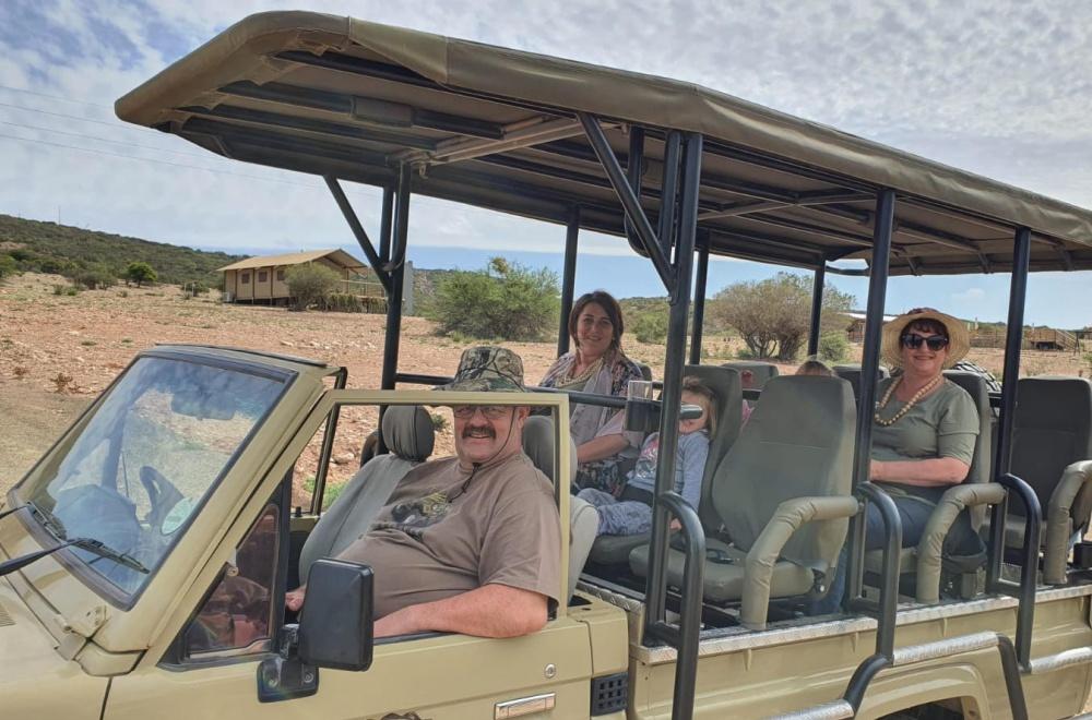 AfriCamps Klein Karoo Oudtshoorn Karoo Safari Drive