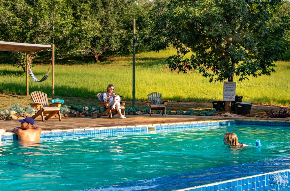 AfriCamps at Mackers Hazyview Pool Side