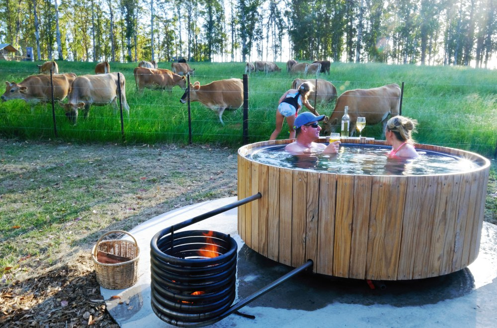 AfriCamps at Oakhurst Wilderness Outdoor Hot Tub Farm