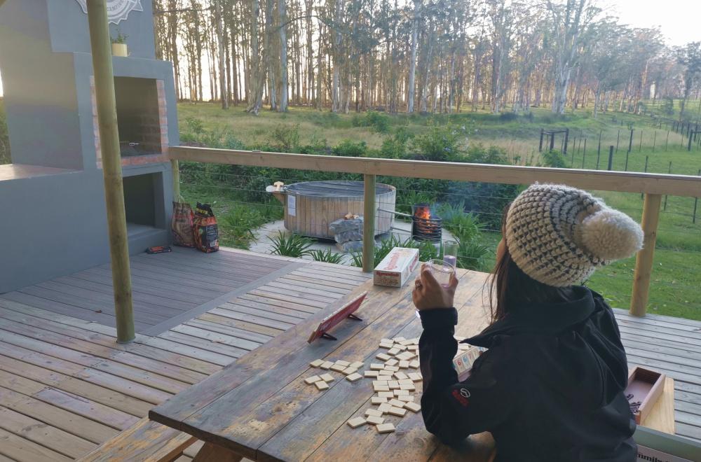 AfriCamps at Oakhurst Wilderness Games Deck Braai