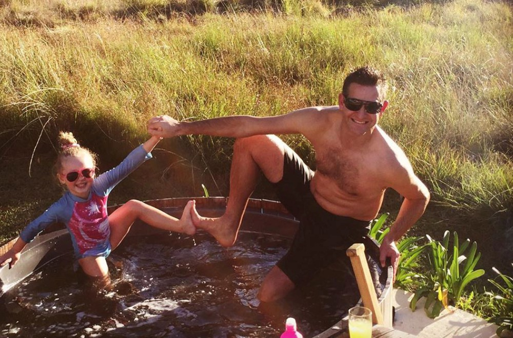 AfriCamps at Oakhurst Wilderness Family Fun in Outdoor Hot Tub