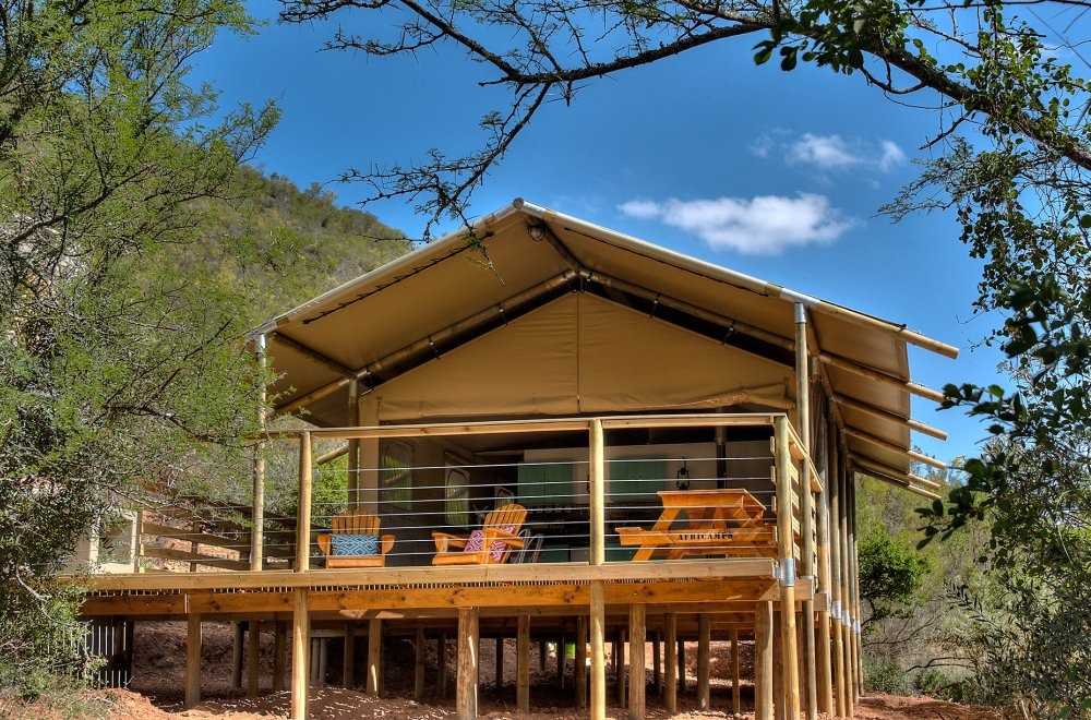 AfriCamps at Pat Busch Robertson Glamping Tent