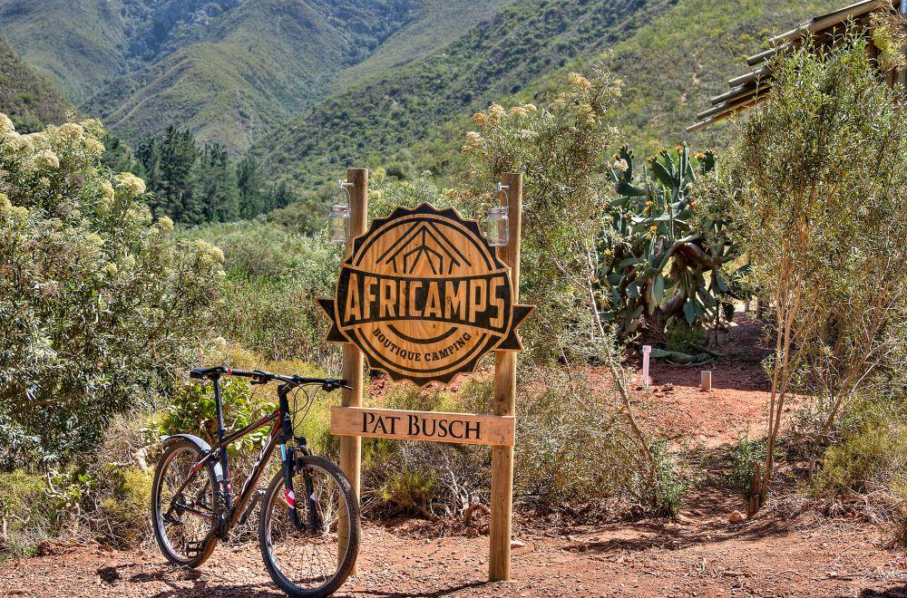 AfriCamps at Pat Busch Mountain Biking