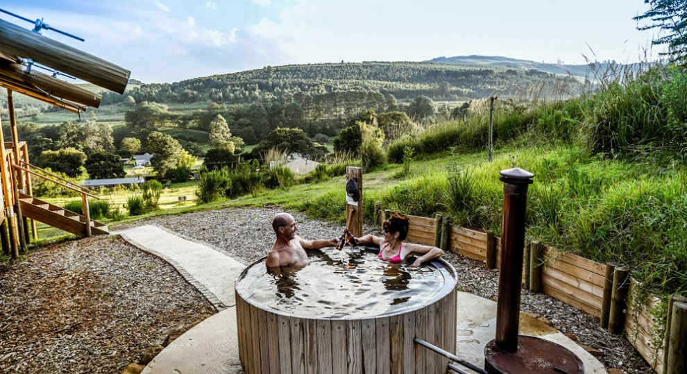 hot tub accommodation midlands kzn