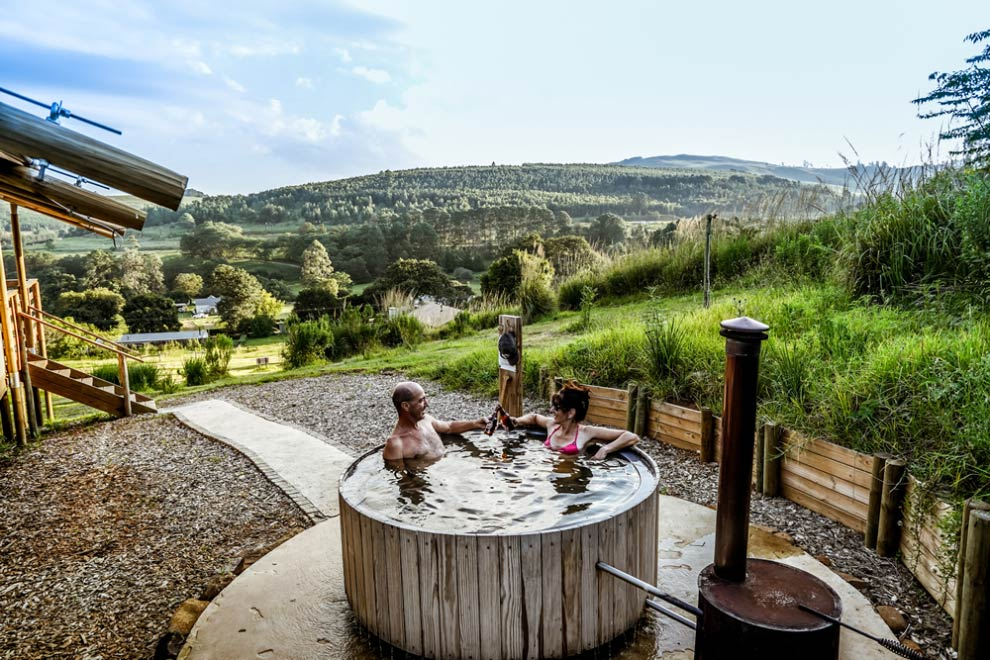 AfriCamps accommodation with Hot Tub