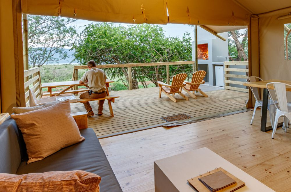 AfriCamps at White Elephant Pongola Glamping Tent