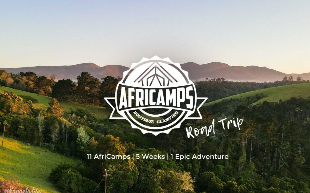 11 AfriCamps, 5 Weeks, 1 Epic Glamping Road Trip